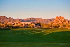 18 hole championship golf course with unbeatable mountain and desert views